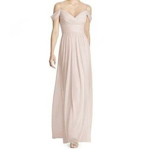 Alfred Sung Off The Shoulder Bridesmaid Dress